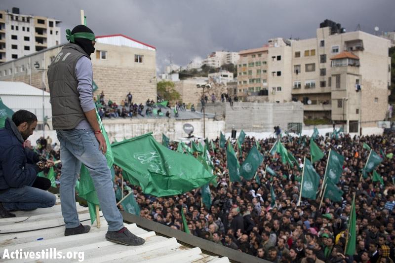עצרת חמאס בחברון, 2012 (אורן זיו / אקטיבסטילס)