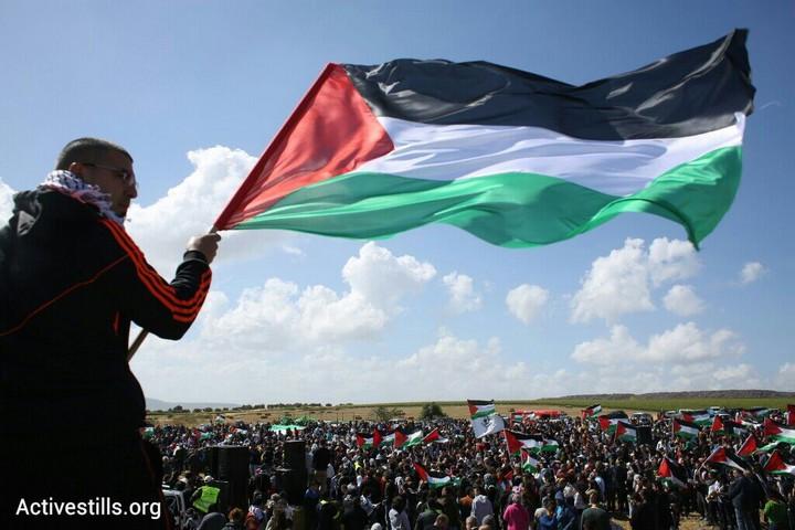 אלפים השתתפו בצעדת השיבה ה-18 לכפר ח'דתא (אורן זיו/אקטיבסטילס)
