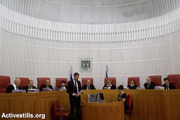 """סכנה למעמדו של בית המשפט העליון. שופטי בג""""צ (צילום: אורן זיו / אקטיבסטילס)"""