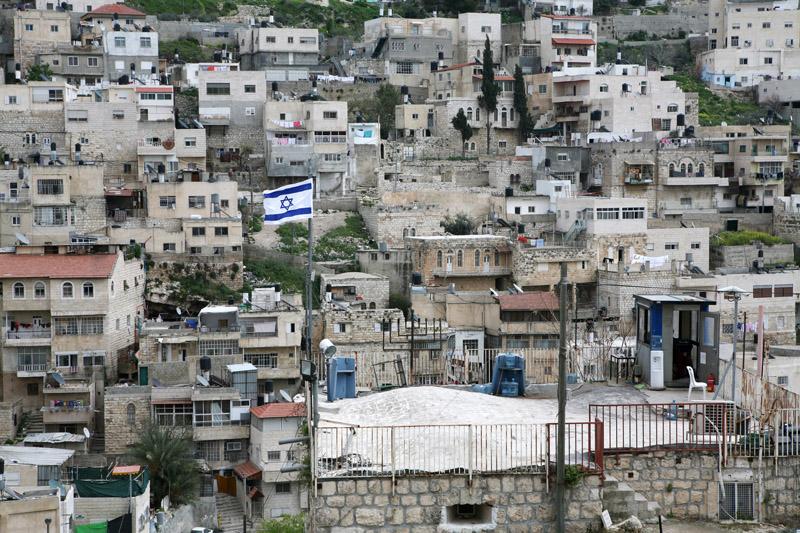 ההתנחלות היהודית בלב סילוואן היא מקור לדיכוי יומיומי (צילום: אקטייבסטילס)