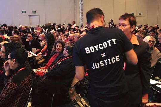 ועידת האגודה האנתרופולוגית האמריקאית מצביעה על יוזמת החרם על מוסדות אקדמיים בישראל (אלכס שמס)