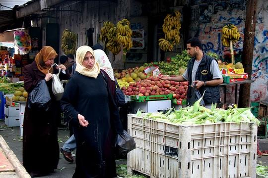 נשים בעזה (צילום: Suhair Karam / IRIN פליקר)
