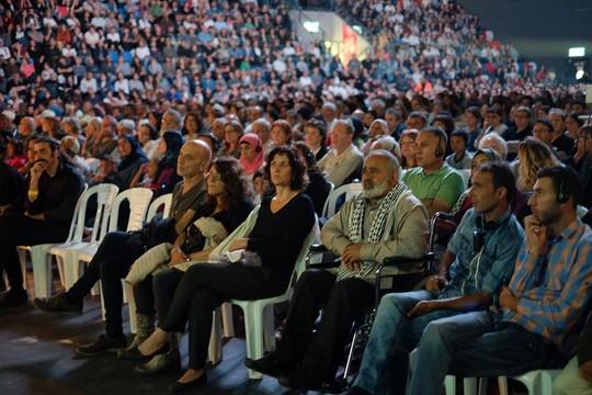 טקס יום הזיכרון הישראלי-פלסטיני, 2016 (חי אשכנזי, לוחמים לשלום)