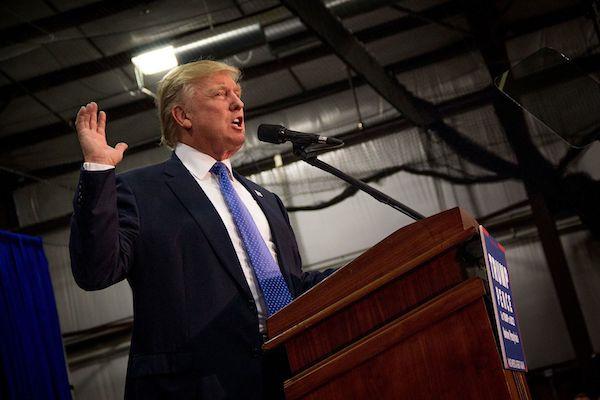 הנשיא הנבחר דונלד טראמפ (Michael Candelori/CC-by-2.0)