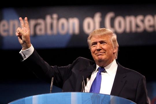 משתולל. הנשיא דונלד טראמפ (צילום: גייג סקידמור)