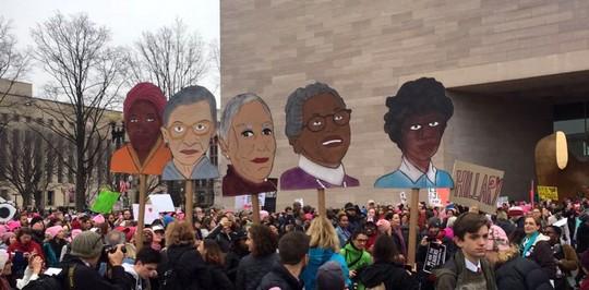 צעדת חצי מליון הנשים בוושינגטון (אמה לואיס)