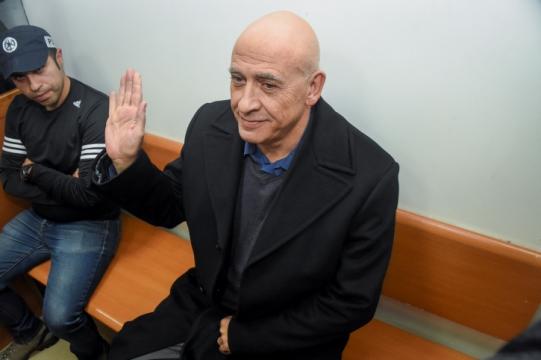 """ח""""כ באסל גטאס בדיון על הארכת מעצרו (צילום: יאיר שגיא, פלאש90)"""