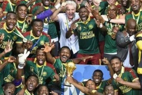 ההחמצה הגדולה של מצרים. קמרון זוכה בגביע אפריקה בכדורגל (צילום יוטיוב)