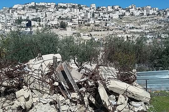 הריסות הבתים בשכונת סילוואן במזרח ירושלים (צילום: סהר ורדי, פרי ג'רוזלם)