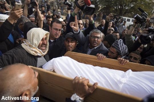 הלוויתו של יעקוב אבו אלקיעאן (פאיז אבו רמילה/אקטיבסטילס)