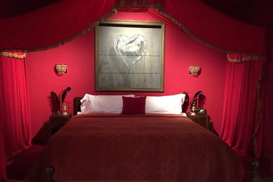 המיטה בסוויטה הנשיאותית