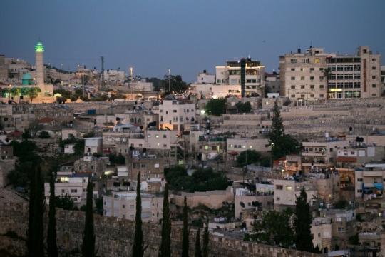 כפר סילואן במזרח ירושלים (צילום: נתי שוחט, פלאש90)