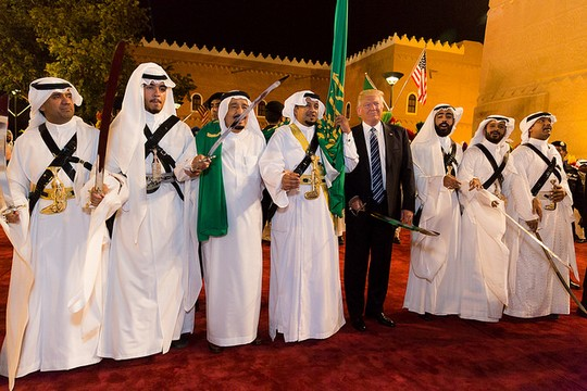 הנשיא טראמפ בביקור בסעודיה (צילום: Shealah Craighead, הבית הלבן CC BY 2.0)