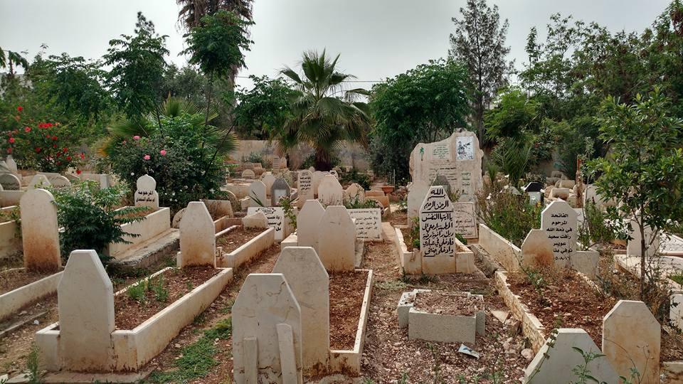 אחרי חומת מגן היה צריך לבנות אגף חדש. בית הקברות בג'נין (אורלי נוי)