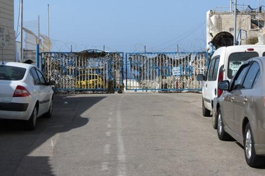 פחד מוות מכל מי שיעז להיכנס, מעבר הגבול הסגור בראש הנקרה (צילום: יובל בן עמי)