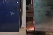 """הדלת נצבעה בכחול. האם מישהו """"טיפל"""" בראיות?"""
