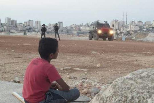 הריסת מבני הגנים בקהילת בדו אל-בבא, בפתח שנת הלימודים 22.08 (צילום: נאסר נוואג׳עה, בצלם)