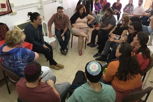 מפגש יהודי-ערבי בלוד (סמאח סלאימה)