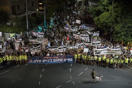 צעדת בעלי החיים, תל אביב (אורן זיו / אקטיבסטילס)