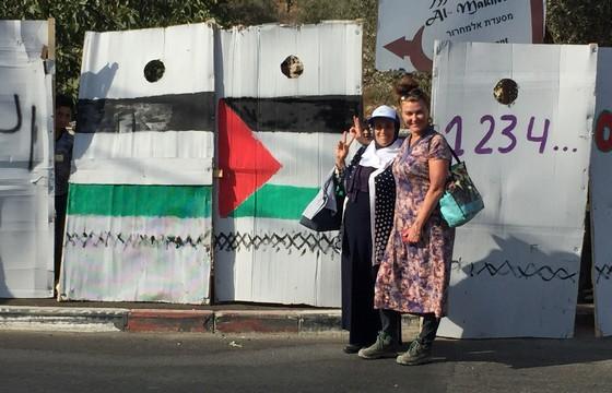 מפגינות בצעדה למען וואלג'ה (חגי מטר)