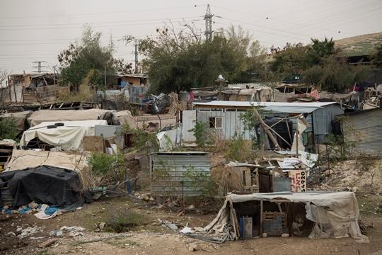 בתי הכפר חאן אל-אחמר (צילום: פאיז אבו רמלה, אקטיבסטילס)