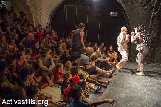 שמוליקיפוד. פסטיבל סולידריות עם התיאטרון הערבי-עברי ביפו (קרן מנור/אקטיבסטילס)