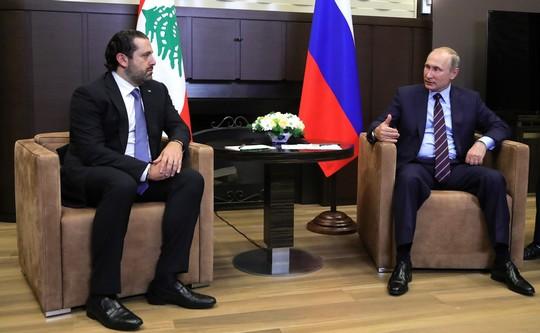 שובה של המלחמה הקרה? ראש הממשלה המתפטר של לבנון סעד חרירי בפגישה עם נשיא רוסיה ולדימיר פוטין (צילום: הקרמלין)
