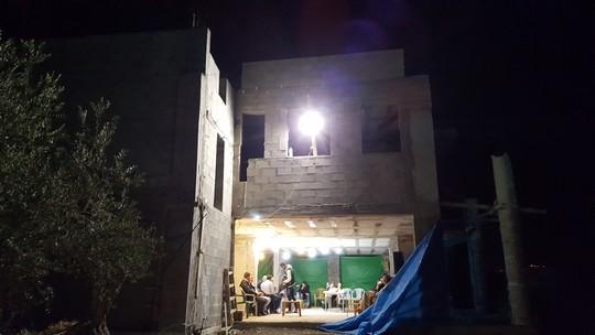 ביתו של עבדאללה ג'זמאווי שעומד בסכנת הריסה (יואב חיפאווי)