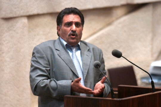 """ח""""כ לשעבר עזמי בשארה, מייסד מפלגת בל""""ד (צילום: פלאש90)"""