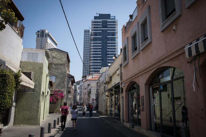 רחובות שכונת נווה צדק בתל אביב (צילום: נתי שוחט / פלאש90)