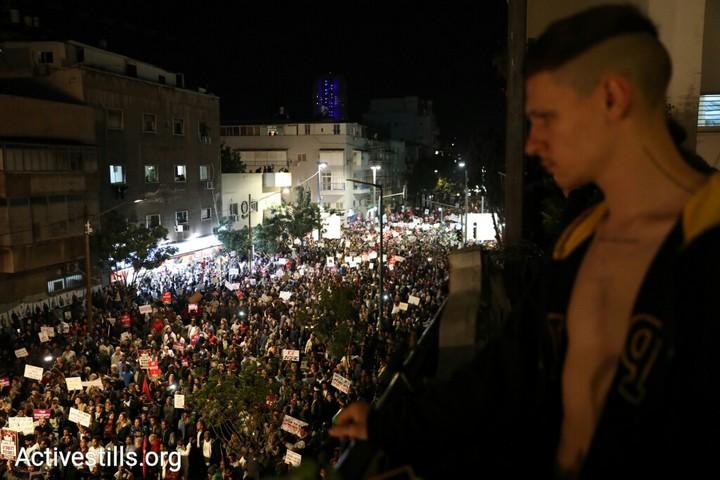 הפגנה נגד הגירוש ובעד דרום תל אביב (אורן זיו / אקטיבסטילס)