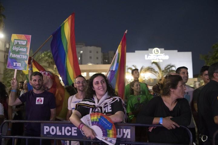אירוע הגאווה היהודי-ערבי הראשון. לוד, 26 ביולי 2018 (אורן זיו / אקטיבסטילס)