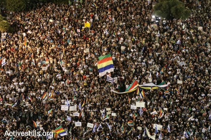 """גישת """"תחזירו לנו את הישראליות"""" שלא מבטאת את זידאן. מחאת הדרוזים נגד חוק הלאום (אורן זיו/ אקטיבסטילס)"""