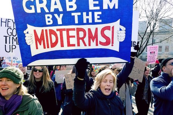 מצעד הנשים בפלורידה. ינואר 2018 (צילום: Rob Kall/CC BY 2.0)