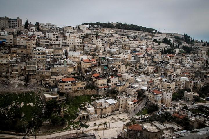 פינוי הפלסטינים עשוי ליצור רצף של מתנחלים במרכז סילוואן. צילום כללי של אזור בטן אל הווא (צילום: מרסלו סוס / פלאש 90)