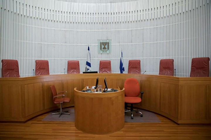 המערכת עוברת טרנספורמציה לכיוון קולוניאליזם בחסות בית משפט עליון. אולם בית המשפט העליון בירושלים (יונתן זינדל/ פלאש 90)