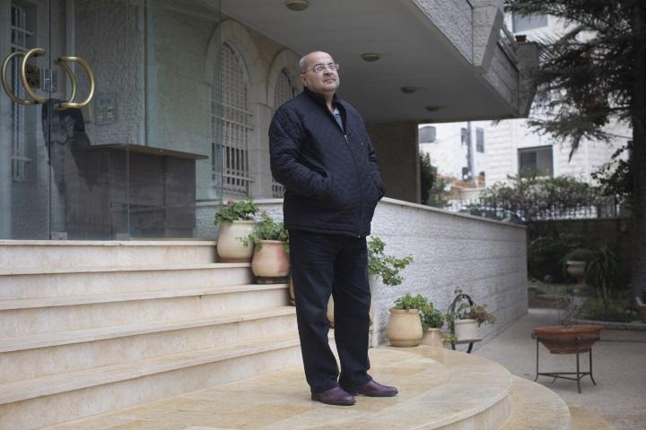 """""""אני גאה שאני פלסטיני, ואם לא הייתי פלסטיני, הייתי בוחר להיוולד פלסטיני"""". אחמד טיבי (אורן זיו/ אקטיבסטילס)"""