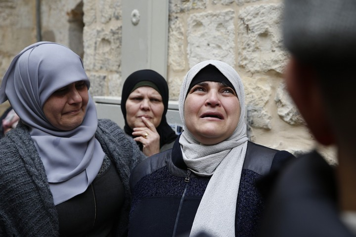 פינוי משפחת אבו סעב מביתה ברובע המוסלמי בעיר העתיקה בירושלים המזרחית. 17 בפברואר 2019 (אקטיבסטילס)