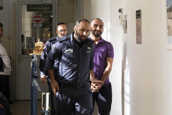 הואשם בתקיפת שוטר, אבל בסופו של דבר השופט הורשע בתקיפתו. אל-חרוף במעצרו הקודם (צילום: אורן זיו / אקטיבסטילס)