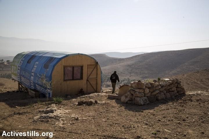בשנתיים האחרונות קמו יותר מאחזים לא חוקיים מאשר בעשר השנים שקדמו להן. מאחז בגדה המערבית (צילום: קרן מנור / אקטיבסטילס)