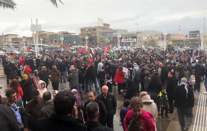 יום האדמה ה-43 בסכנין. 30 במרץ 2019 (סמאח סלאימה)