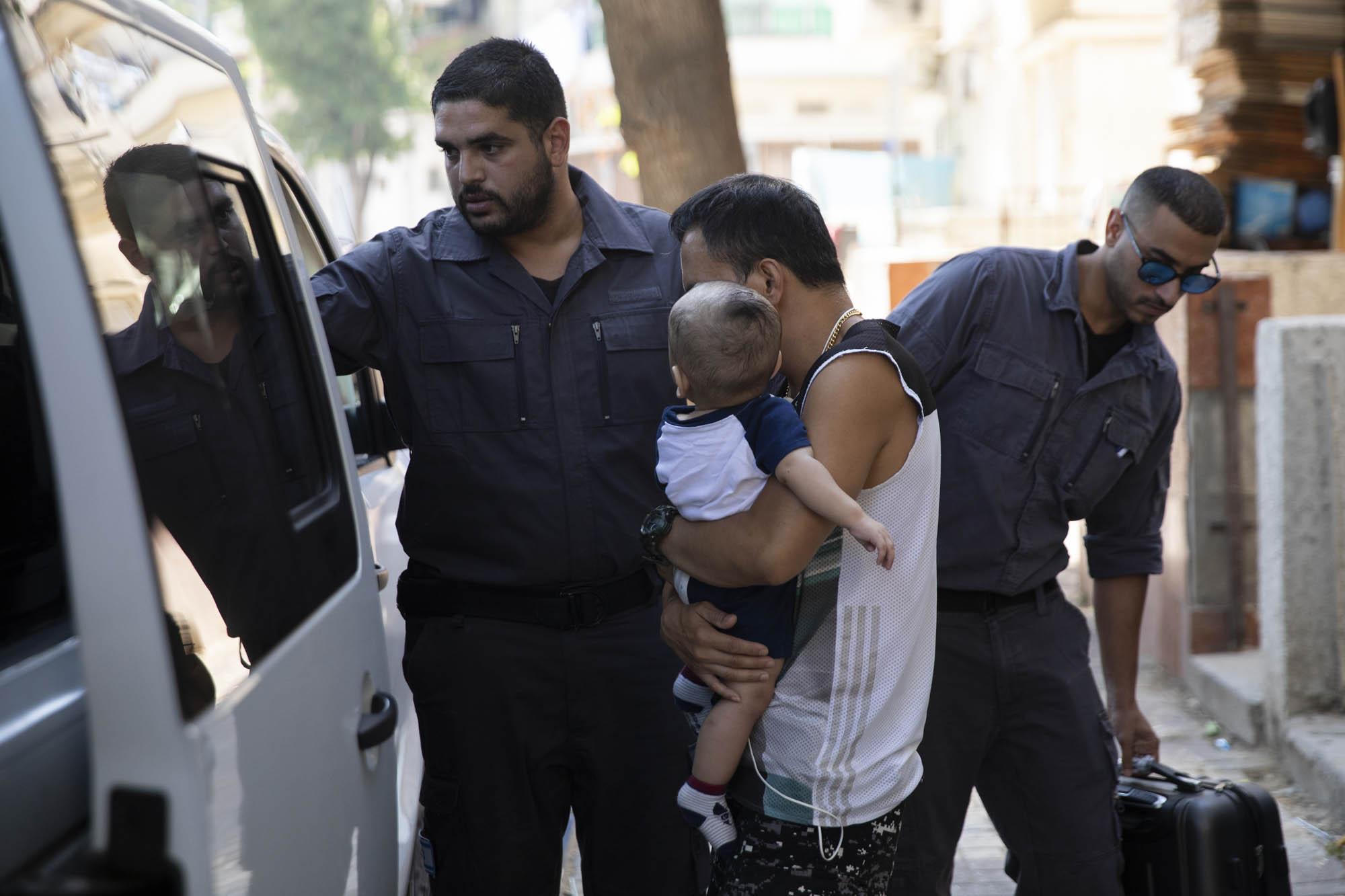 מעצרים של מהגרי עבודה בדרום תל אביב (צילום: אורן זיו/אקטיבסטילס)