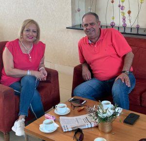 הזוג דיאב ורימא נקארה מחיפה (צילום: סוהא עראף)