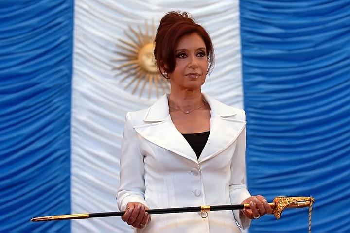 נשיאת ארגנטינה לשעבר, כריסטינה פרננדס דה קירשנר (צילום: Presidencia de la N. Argentina)