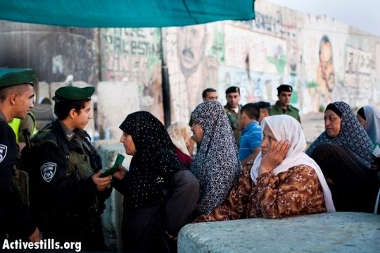נשים בכניסה לירושלים ברמדאן (אורן זיו / אקטיבסטילס)