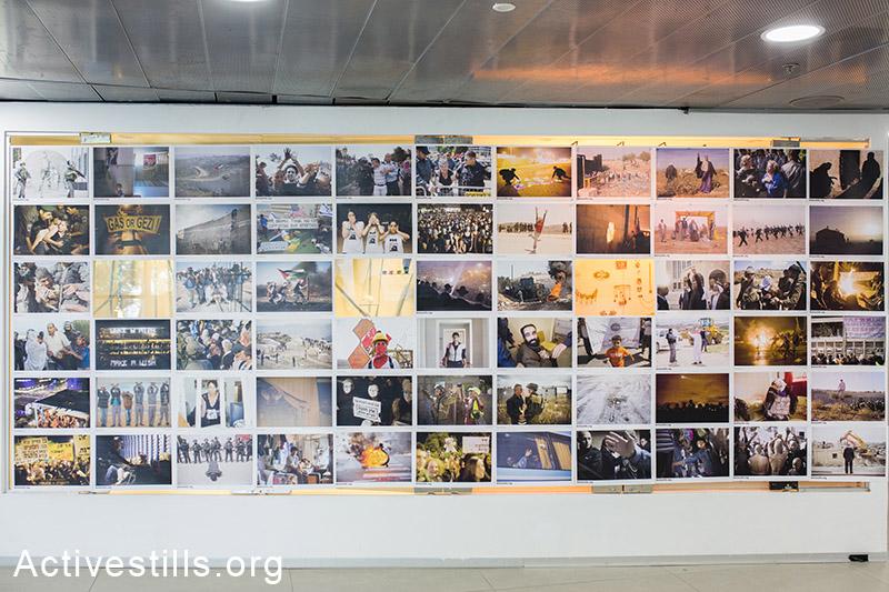 תערוכת אקטיבסטילס בשלבים אחרונים של הכנה, ה-28 למרץ, 2014. (יותם רונן/אקטיבסטילס)