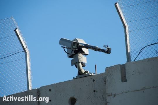 הנשק החדש לפיזור הפגנות על החומה בבית לחם (אקטיבסטילס)