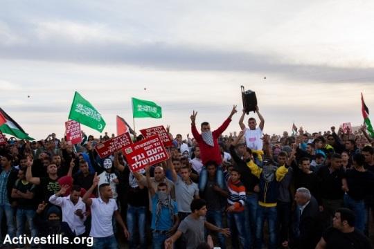 הפגנת יום הזעם נגד תוכנית פראוור בחורה, 30 בנובמבר 2013. צילום: אקטיבסטילס