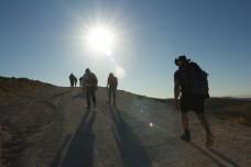 קבוצת הליכה בפלסטין (בסאם אלמוהור)