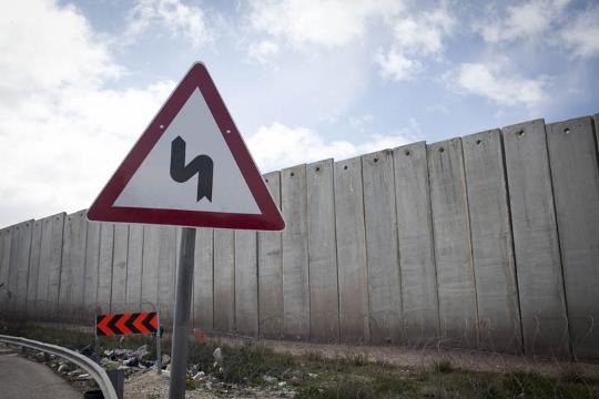ארוכה ומתפתלת. החומה באזור ירושלים (אורן זיו / אקטיבסטילס)